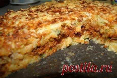 Картофельный пирог-запеканка  Ингредиенты: - 1.7 кг картофеля - 100 г муки Показать полностью…