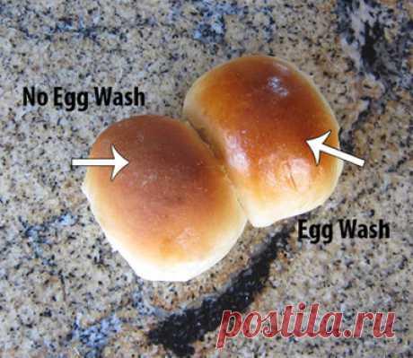 Чем смазывают тесто перед выпечкой