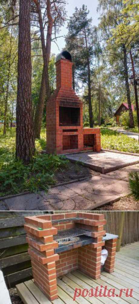 Кирпичный камин на даче: свойства и материалы - Статьи - Недвижимость@Mail.Ru
