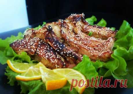(3) Карп кусочками в медово-соевом соусе с кунжутом - пошаговый рецепт с фото. Автор рецепта Поляна Коляна . - Cookpad