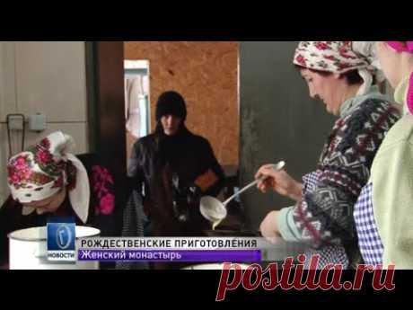 В одесском женском монастыре готовятся к Рождеству