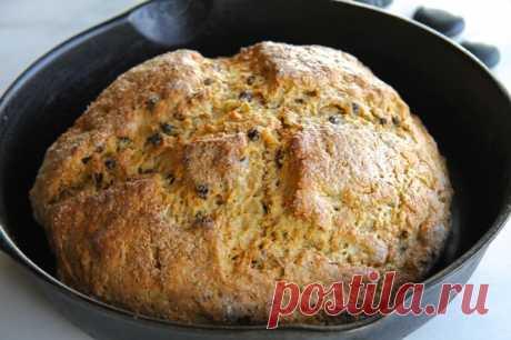 Ирландский хлеб - KitchenMag.ru Ирландский хлеб разнообразит ваш привычный рацион. Приготовить его не составит труда.