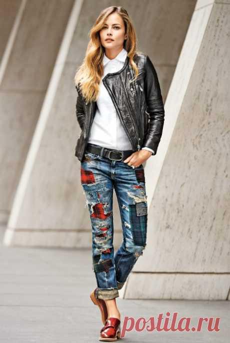 Как трансформировать старые джинсы / Как сэкономить