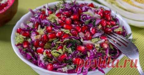 Простые салаты без майонеза