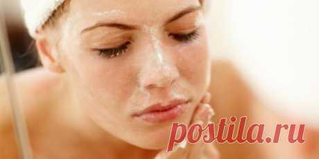 Деликатный пилинг для лица «Сияющая кожа»