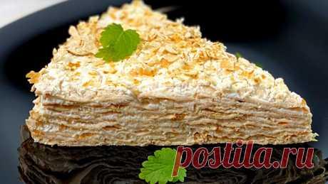 """ПП-торт """"Лавашик"""". Диетический десерт. Торт «Лавашик» содержит всего 150 ккал. Это тот самый диетический десерт, который не только не навредит фигуре, но и будет полезным для приверженцев здорового питания. Готовится легко и просто. Никакой возни с тестом. Вместо коржей используется тонкий лаваш. Крем получается не жирным и очень вкусным. Попробуйте! Ингредиенты: 1. Тонкий лаваш - 220 г (20 г на посыпку) 2. Творог обезжиренный -"""