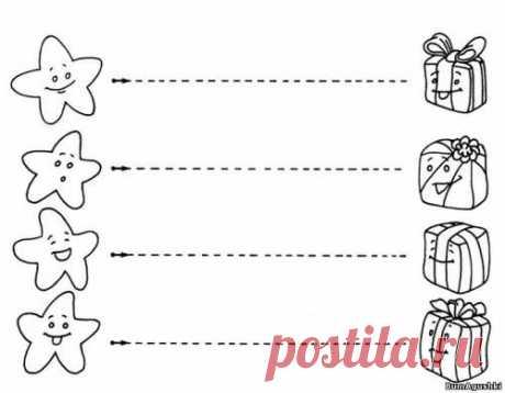 Po tochkam (4) - Соединяем по точкам - Дошкольное развитие ребенка - БумАгушки - детские раскраски и многое другое
