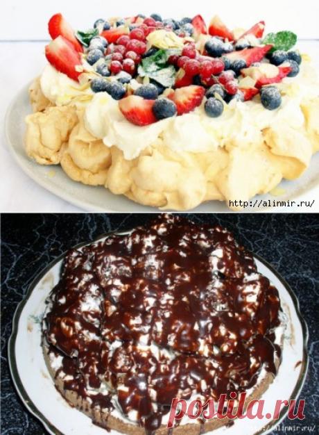 Торт Винная пена