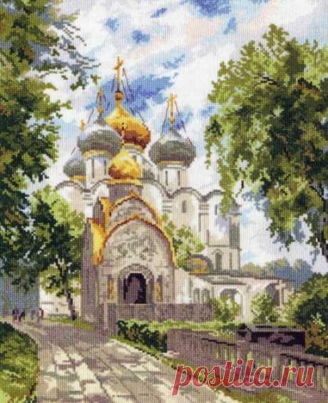 Вышивка «Новодевичий монастырь» | Скачать схему бесплатно