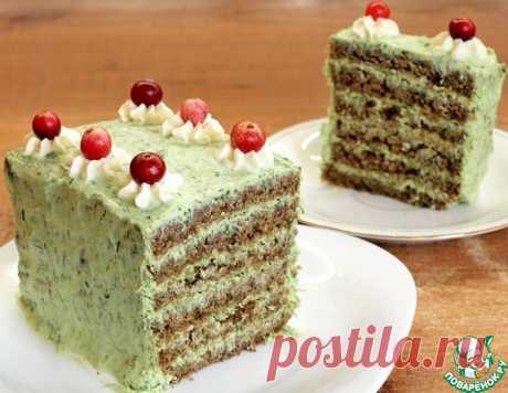 """Закусочный торт """"Лесная мавка"""" – кулинарный рецепт"""