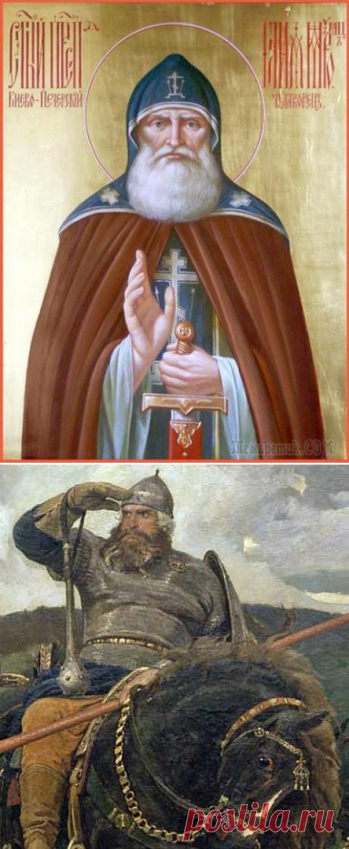 Преподобный Илия Муромец Печерский