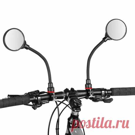 Handlebar rearview mirrors multifunctional adjustable for mountain road bike bicycle electric scooter motorcycle Sale - Banggood.com