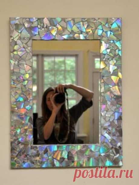 Что можно сделать из старого зеркала - идеи на фото