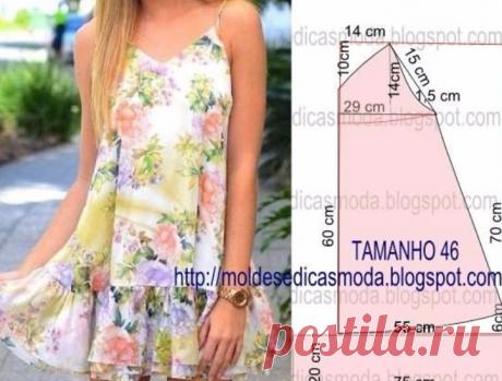 Летние платья и сарафаны с простыми выкройками… 50 платьев — 50 выкроек! – Полезные советы хозяйкам
