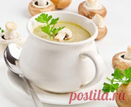 Крем-суп грибной - рецепт с фото