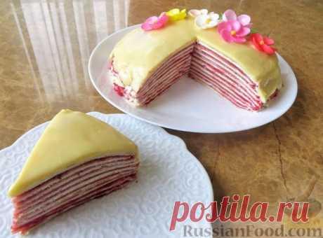 Торт блинный - не только на Масленицу