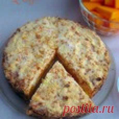 """Насыпной пирог """"Тыковка"""" Кулинарный рецепт"""