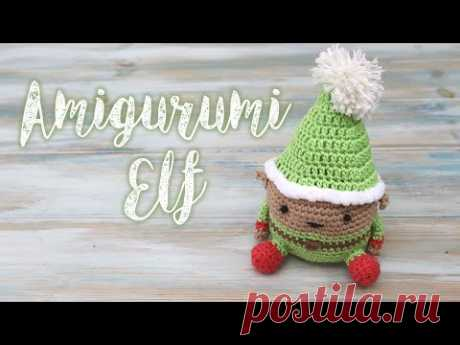 Amigurumi Crochet Elf