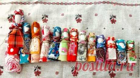 Делаем обережную куклу Лихоманку для защиты от хворей | Журнал Ярмарки Мастеров