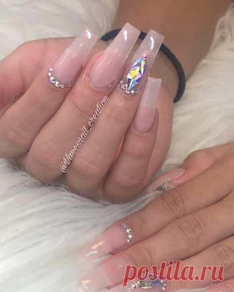 🔥🔥🔥 Instagram post by @vanesnail_creation | 💎💅💕 To schedule your appointments click the link on my bio 🚨 $60 . . . #nails #nailsonfleek #nailsofinstagram #nailstagram #nailsofig #nailsofinstagram #instanails #houstonnails #htx #nailporn #notpolish #nailsoftheday #longnails #taperedsquarenails #coffinnails #swarovskinails #swarovskicrystals #nudenails | 🔥 WAPINSTA