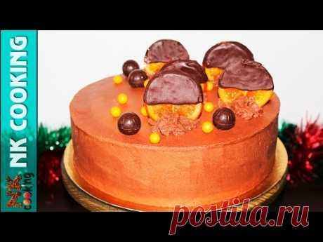 Торт Медовик Шоколадный 😍 Самый Любимый Торт 😍 Рецепты NK cooking