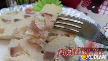El soufflé tvorozhno-de manzana - el postre tierno en la multicocción a un par: ¡el ama Económica! ¡A mí de nada se pierde!: los grupos - diets.ru