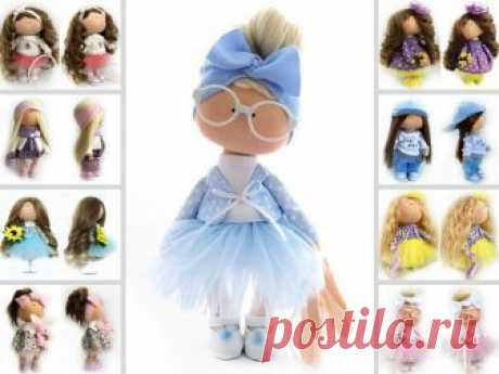 Nursery Fabric Doll, Tilda Cloth Doll, Soft Blue Doll, Textile Gift Doll Bambole di stoffa Portrait Art Doll Baby Room Rag Doll by Natalia P Hello, dear visitors!  This is handmade cloth doll created by Master Natalia P (Moscow, Russia). All dolls on the photo are mady by artist Natalia P. You can find them in our shop searching by artist name. Here are all dolls of artist Natalia P: