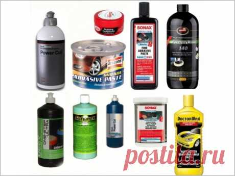 Паста для полировки кузова автомобиля: какая лучше?