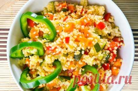 Couscous with vegetables is Lisa.ru