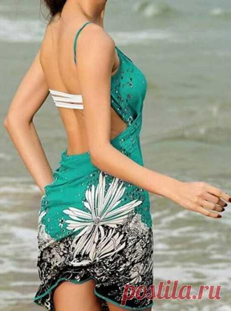Если на пляж, то красивой! Парео и саронг: модная пляжная одежда из Али Экспресс #4 | Алиса Мix | Яндекс Дзен