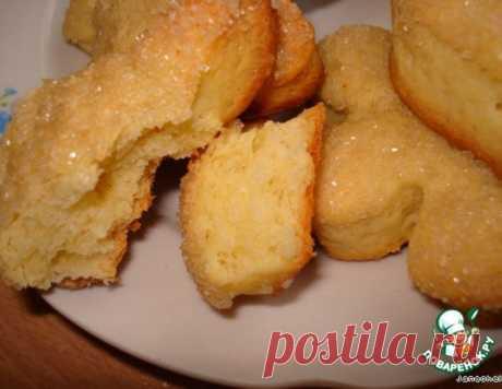 Печенье из песочно-дрожжевого теста – кулинарный рецепт