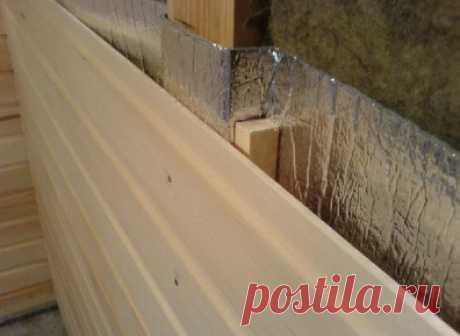 Утепление стен бани изнутри: схема утепления, виды и выбор материалов