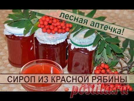 Сироп из ягод красной рябины: рецепт полезной, вкусной заготовки на зиму Хочу поделиться с вами рецептом приготовления моей любимой зимней заготовки - сиропом из ягод красной рябины. Рябиновый сироп готовится легко, быстро,...