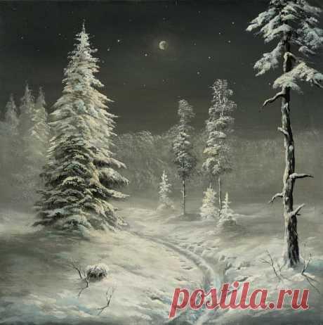 Коллекция картинок: Сказочные пейзажи Станислава Побытова