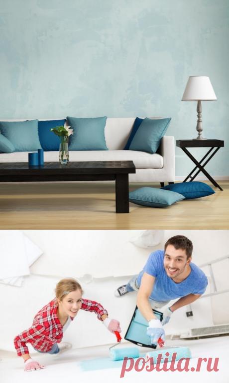 Работа с декоративной штукатуркой — Роскошь и уют
