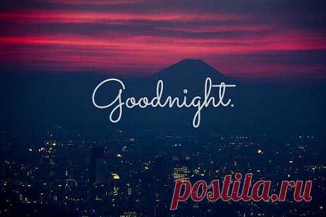 Ночь над городом.