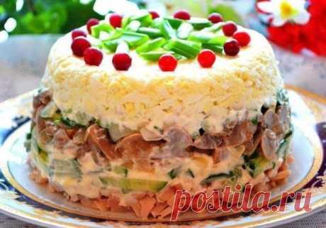 Салат «Ирина» — очень нежный и необыкновенный салат!   primewow.ru   Первый и лучший!