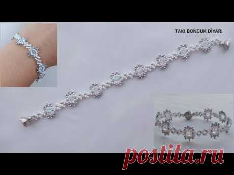 Элегантный и стильный браслет решений / элегантный браслет решений из бисера