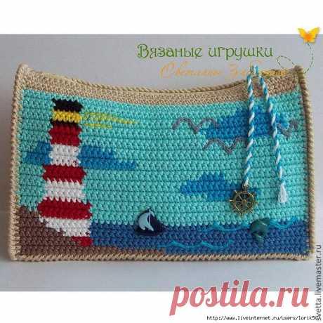 Вязаные летние сумки от Светланы Забелиной