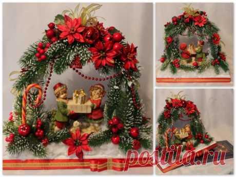 Las ideas de la decoración, la decoración de Año Nuevo, los artículos de Año Nuevo, la formalización navideña de la casa, adornamos la casa hacia el nuevo año, los regalos de Año Nuevo con las manos,