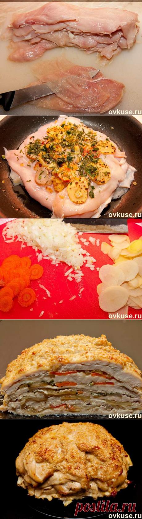 La gallina ASOMBRA a los INVITADOS se prepara de los productos simples, y se ve - como el manjar del restaurante de ostentación