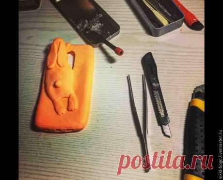 Как сделать силиконовый чехол для телефона - Ярмарка Мастеров - ручная работа, handmade