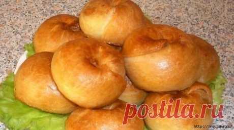 Пирожки слоистые по рецепту бабушек