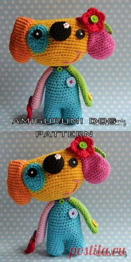 Free Amigurumi Dog Crochet Patterns - Amigurumi Crochet