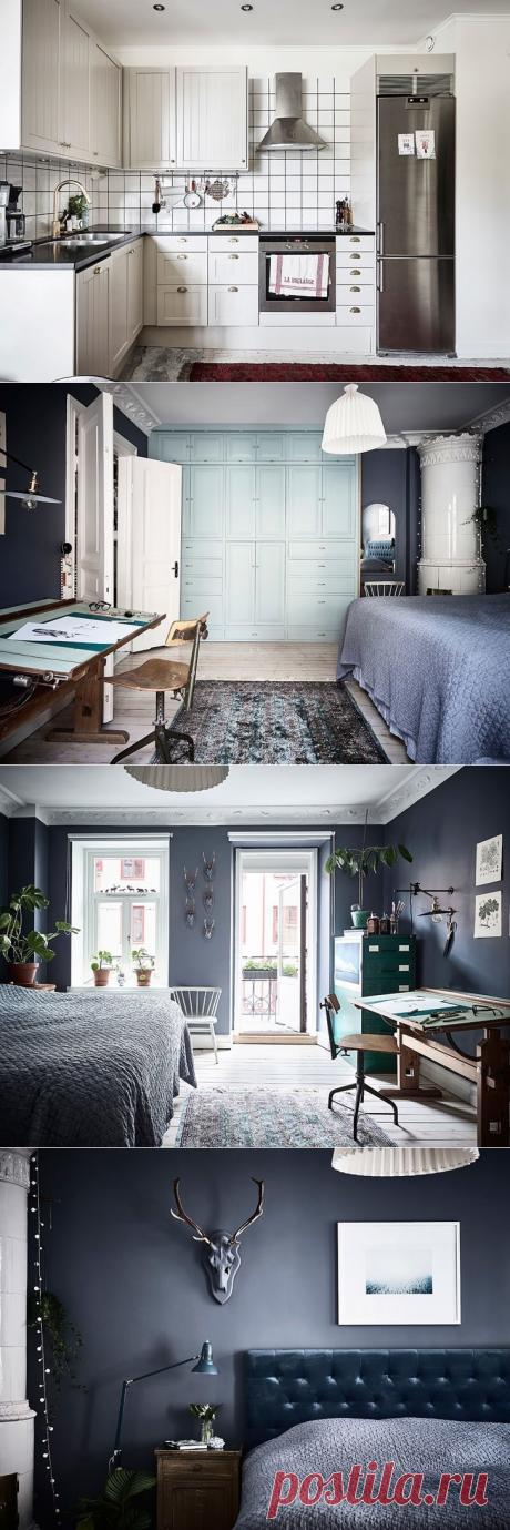 Творческий интерьер в Швеции (76 кв. м) - Дизайн интерьеров | Идеи вашего дома | Lodgers