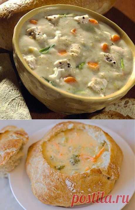 Кулинарные традиции наших предков: хлебные супы / Простые рецепты