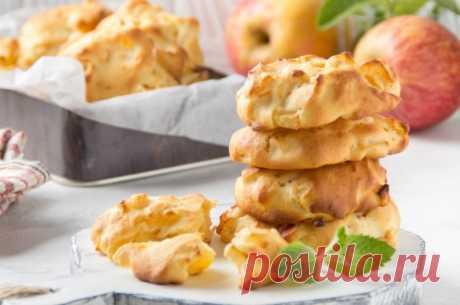 Домашнее печенье на масле с яблоками: мягкое и ароматное