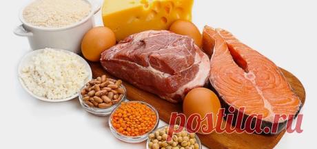 38 основных продукта для правильного питания Белки: Яйца – хороший источник белка, который ускоряет метаболизмМолочная сывороткаИндейка без кожицыКуриная грудка без кожицыАрахисовое маслоНежирное мясо – говядинаЛосось, сардины, тунецМиндаль, грецкий орех, кешью и арахис – несколько штук в деньБобовые