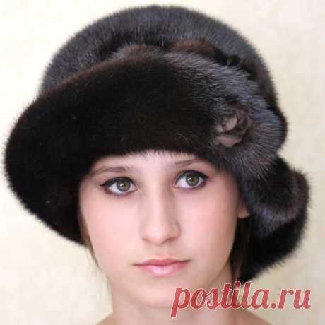 Шляпа Жаннет из меха за 8 500 руб. Бесплатная доставка по РФ