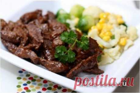 Рецепт приготовления тушеной говядины